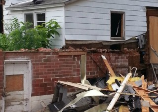 Junk Removal After Tear Down in Des Moines